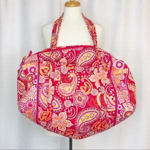 Vera Bradley Paisley Duffle Bag